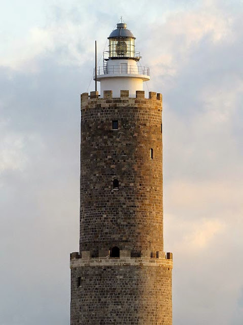 Fanale dei Pisani, lighthouse, port of Livorno