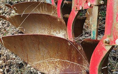 Débarras de matériel agricole