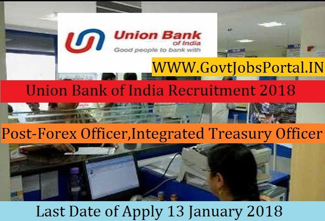 Union bank forex officer recruitment