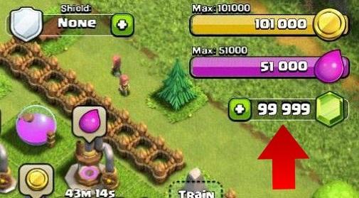 clash of clan hack gems