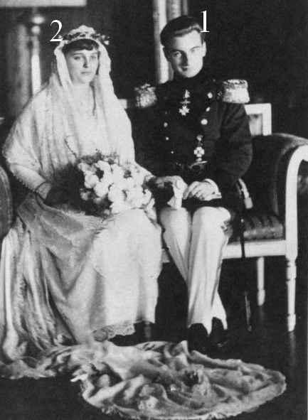Thurn und Taxis-Bragance-mariage 1921.