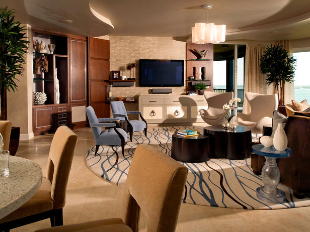 2013 Modern Neutral Living Rooms Decorating Ideas