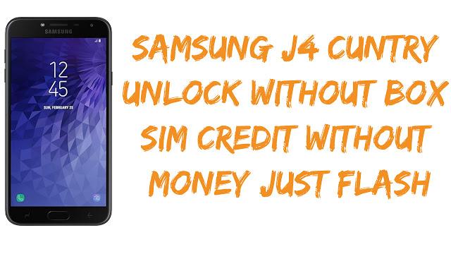 Samsung SM-J400F Country Network Unlock Flash File Full Free
