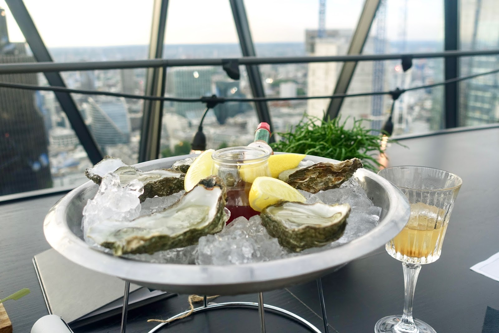 SEARCYS BEACH HUT POP UP BAR, THE GHERKIN LONDON