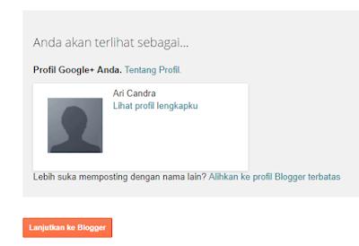 Cara Mudah Membuat Blog Di Blogger