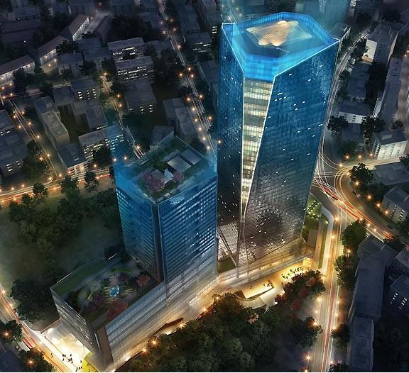 Mumbai Properties Kohinoor Square 52 Storey Tallest