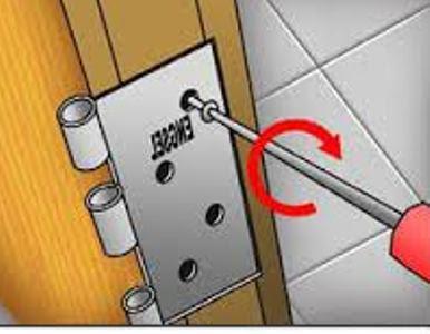 Cara Mudah Memasang Engsel Daun Pintu Kayu Jati 7