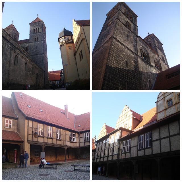 Quedlinburg - castelo e igreja