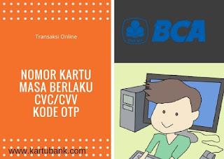 Berbelanja dengan kartu kredit BCA