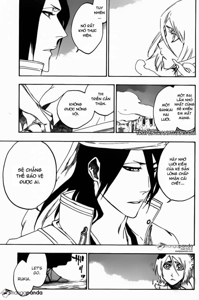 Bleach chapter 570 trang 11