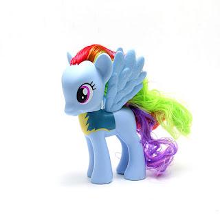 MLP Possible Rainbow Dash Wonderbolt Fashion Style Brushable