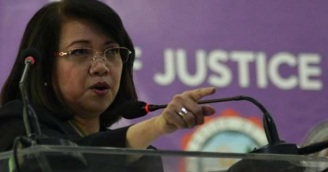 Sereno: may malakas na taong nag popondo sa Impeachment Case.