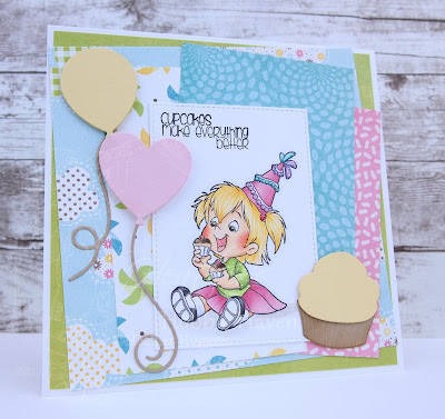 Heather's Hobbie Haven - My Cupcake Twila Card Kit