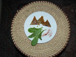 Recette mamangue samoussas viande curry et gingembre
