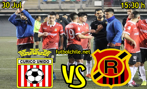VER STREAM YOUTUBE MOVIL ANDROID IOS IPHONE, RESULTADO EN VIVO, ONLINE: Curicó Unido vs Rangers