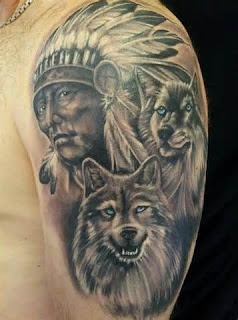 tatto Indian Apache