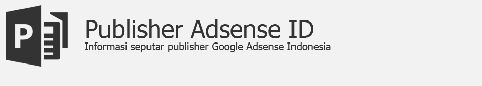 Publisher Adsense Indonesia