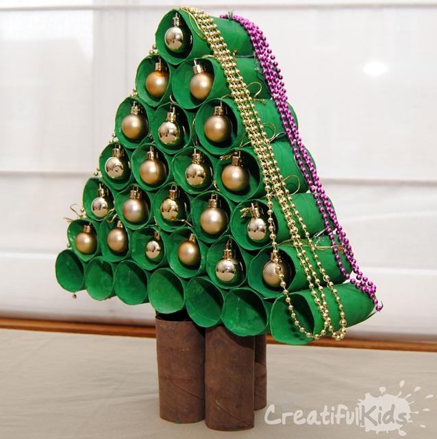 No Solo DIY: 10 Arboles de Navidad DIY Reciclando