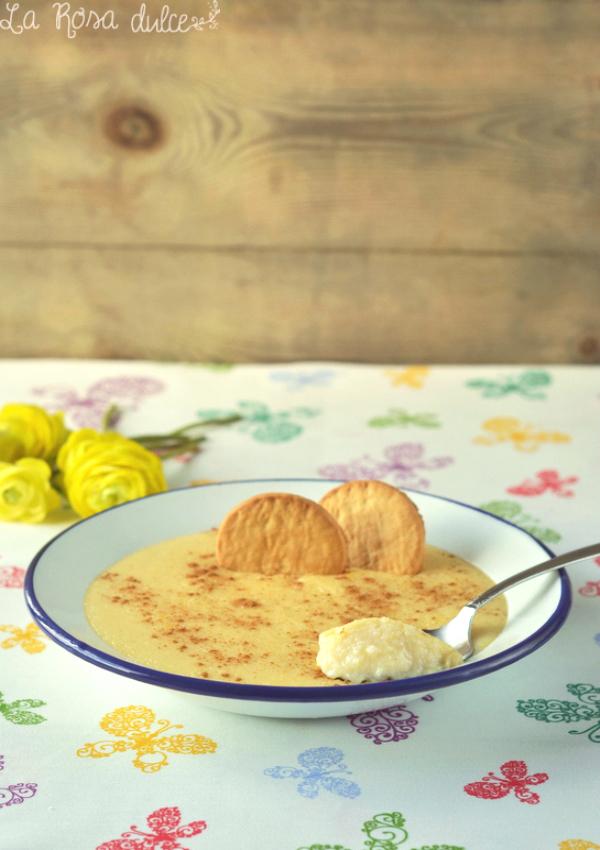 Natillas de sémola a la vainilla {sin gluten y sin lactosa}