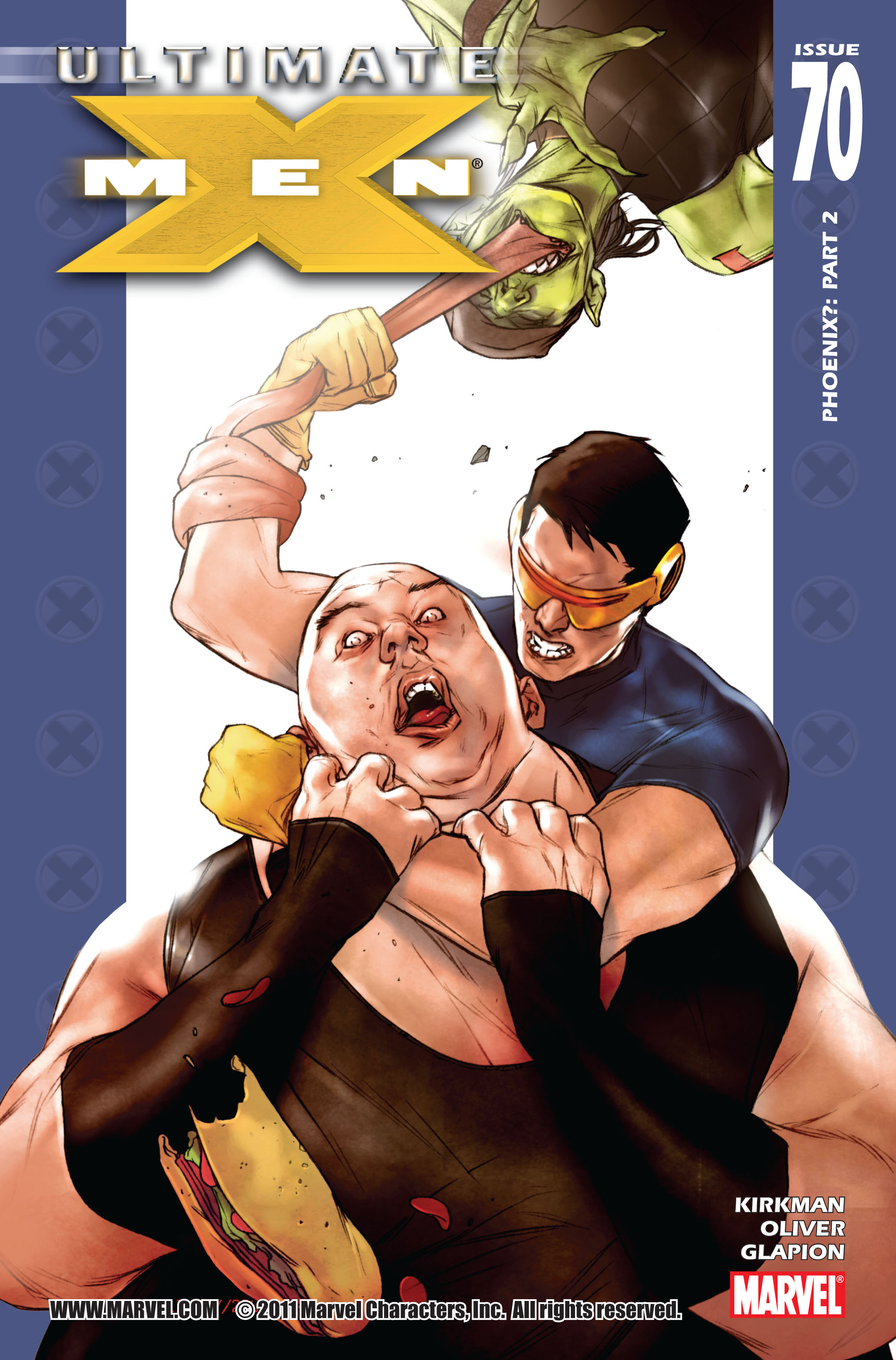 Read online Ultimate X-Men comic -  Issue #70 - 1