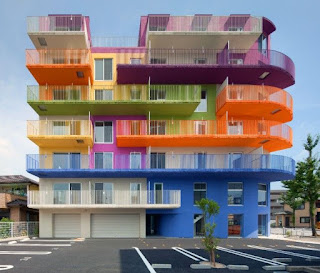 warna cat rumah bagian luar Beautiful Rainbow
