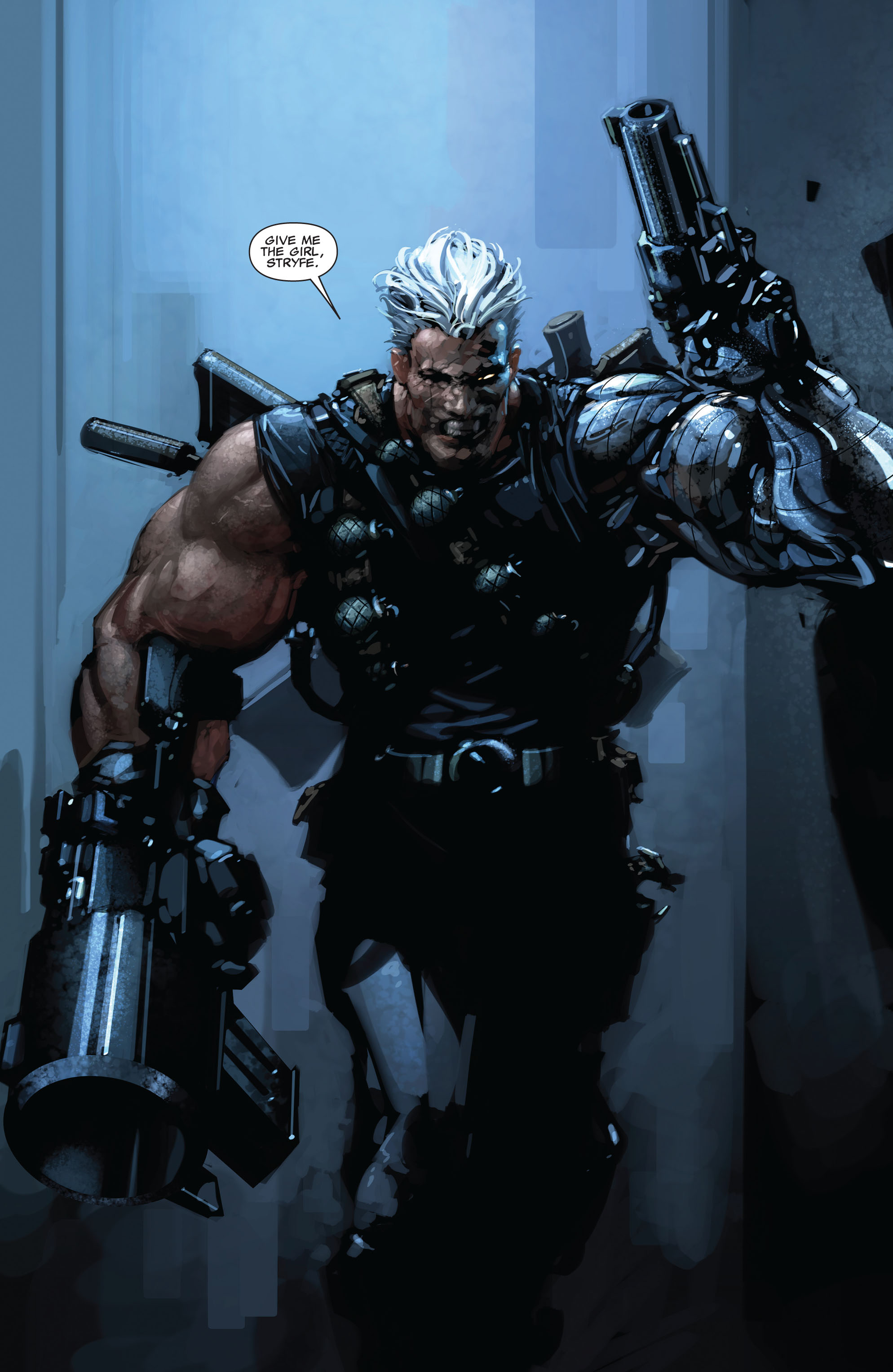 Read online X-Force (2008) comic -  Issue #15 - 17