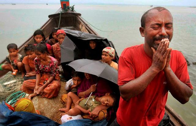 Inilah Awal Tragedi Pembantaian Muslim Rohingya Myanmar