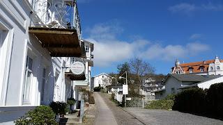 Enge Gassen und Wege in der Altstadt von Sassnitz