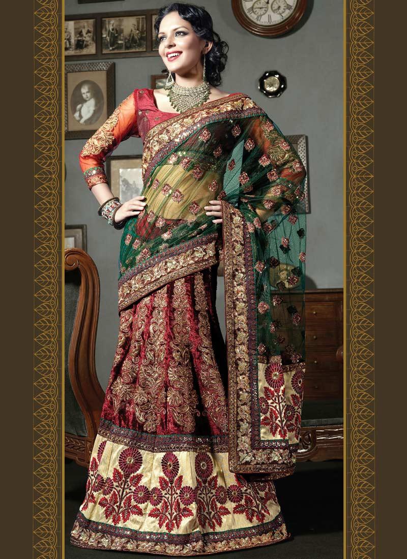 She Fashion Club Wedding Bridal Lehenga Sarees