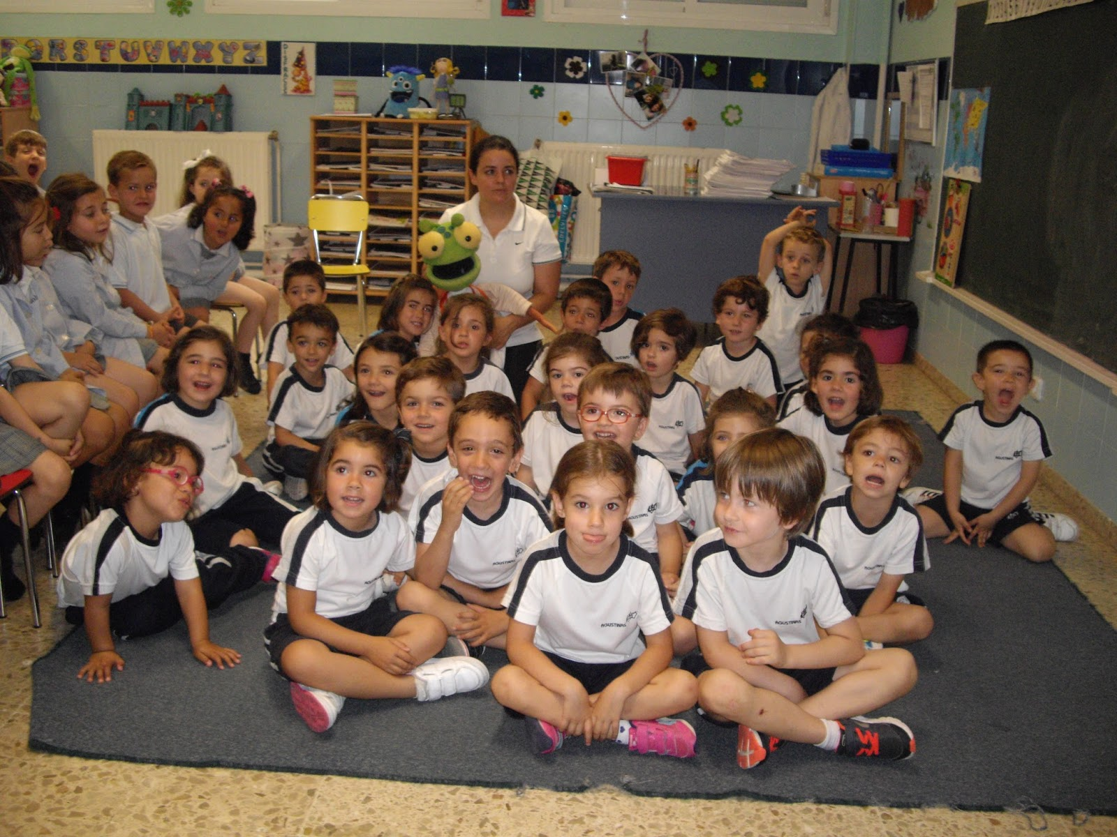 Agustinas Valladolid - 2017 - Infantil 4-5 - Taller Postural