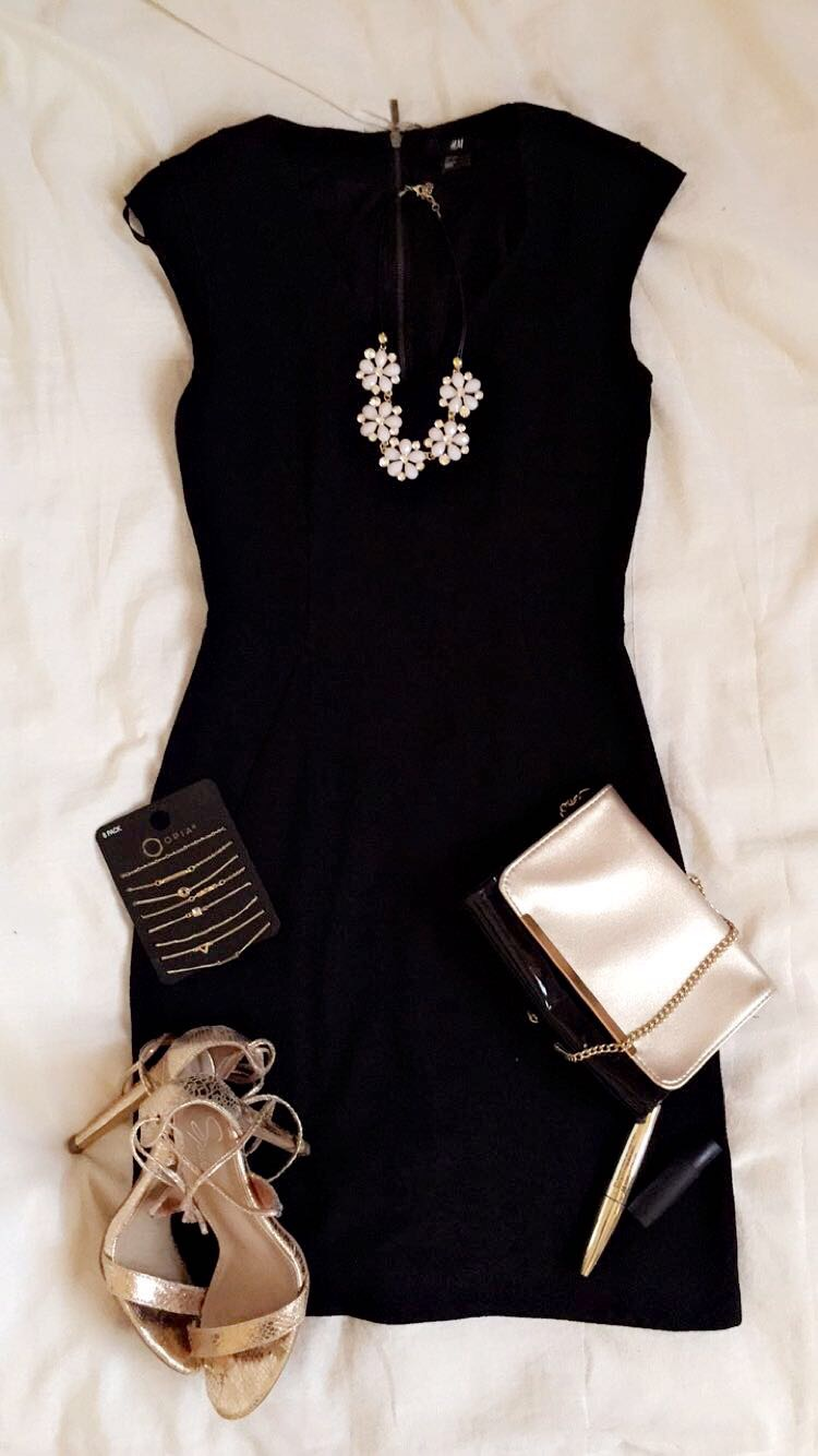 How To wear a Little black dress
