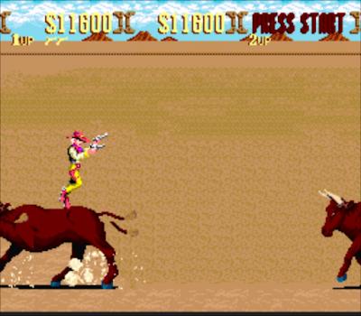 【SFC】西部牛仔(日落騎士)原版+閃爍無敵版,賞金獵人槍戰射擊遊戲!