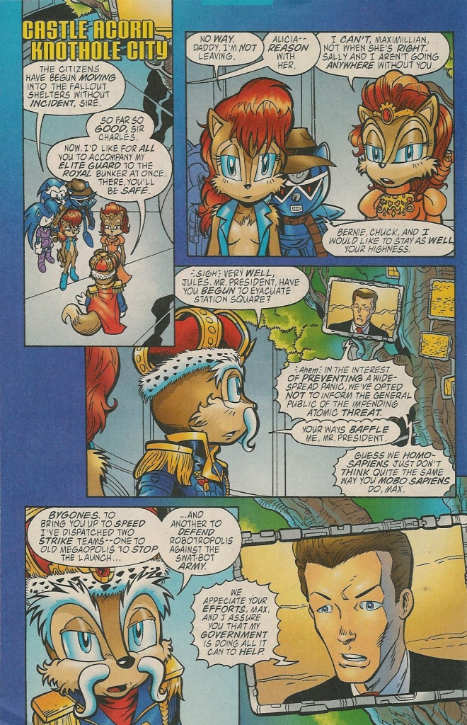 Read online Sonic The Hedgehog comic -  Issue #131 - 11