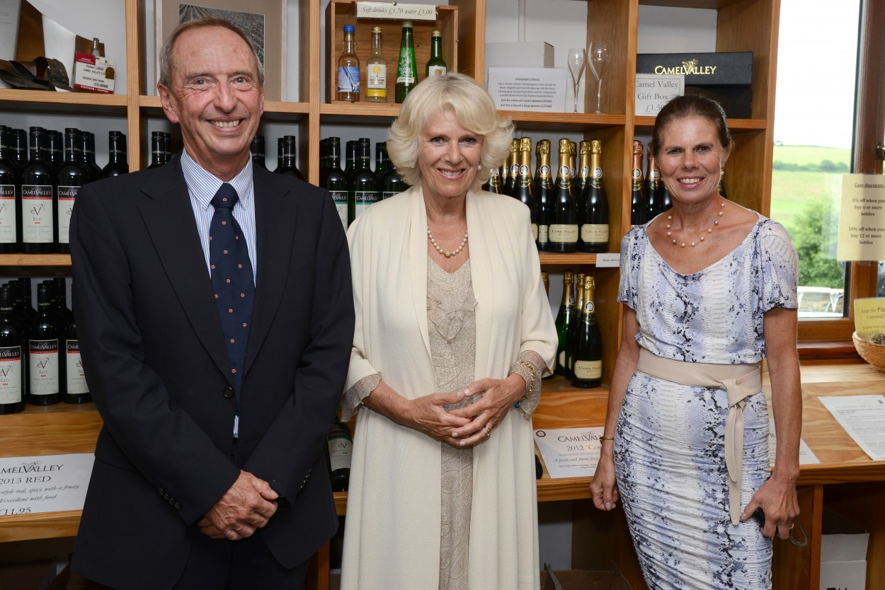 Award wining wines loved by the Royals from Camel Valley Wines in Cornwall