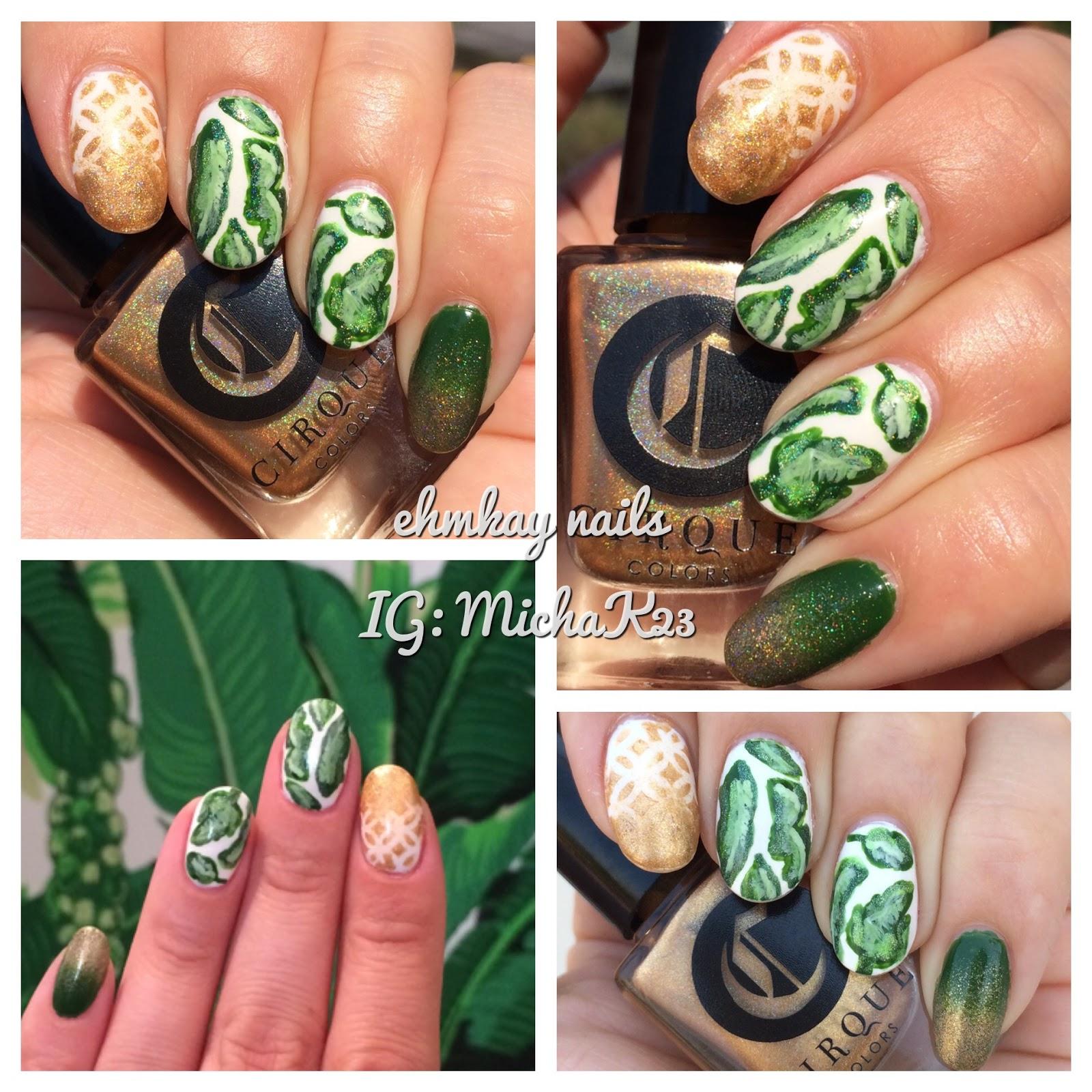 ehmkay nails: Cirque Colors International Playground Palm Leaves ...
