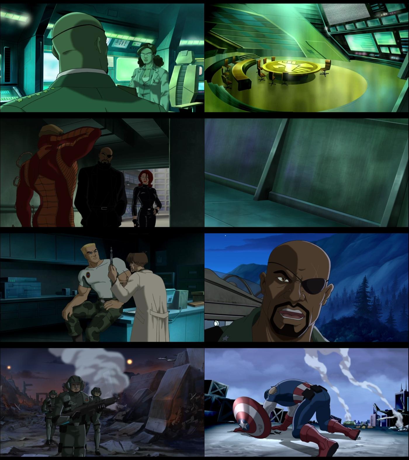 Ultimate Avengers 1080p Latino