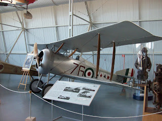 An Hanriot HD.1 similar to the one in which Scaroni  enjoyed so much success