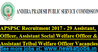 appsc-29-assistant-jobs-2017