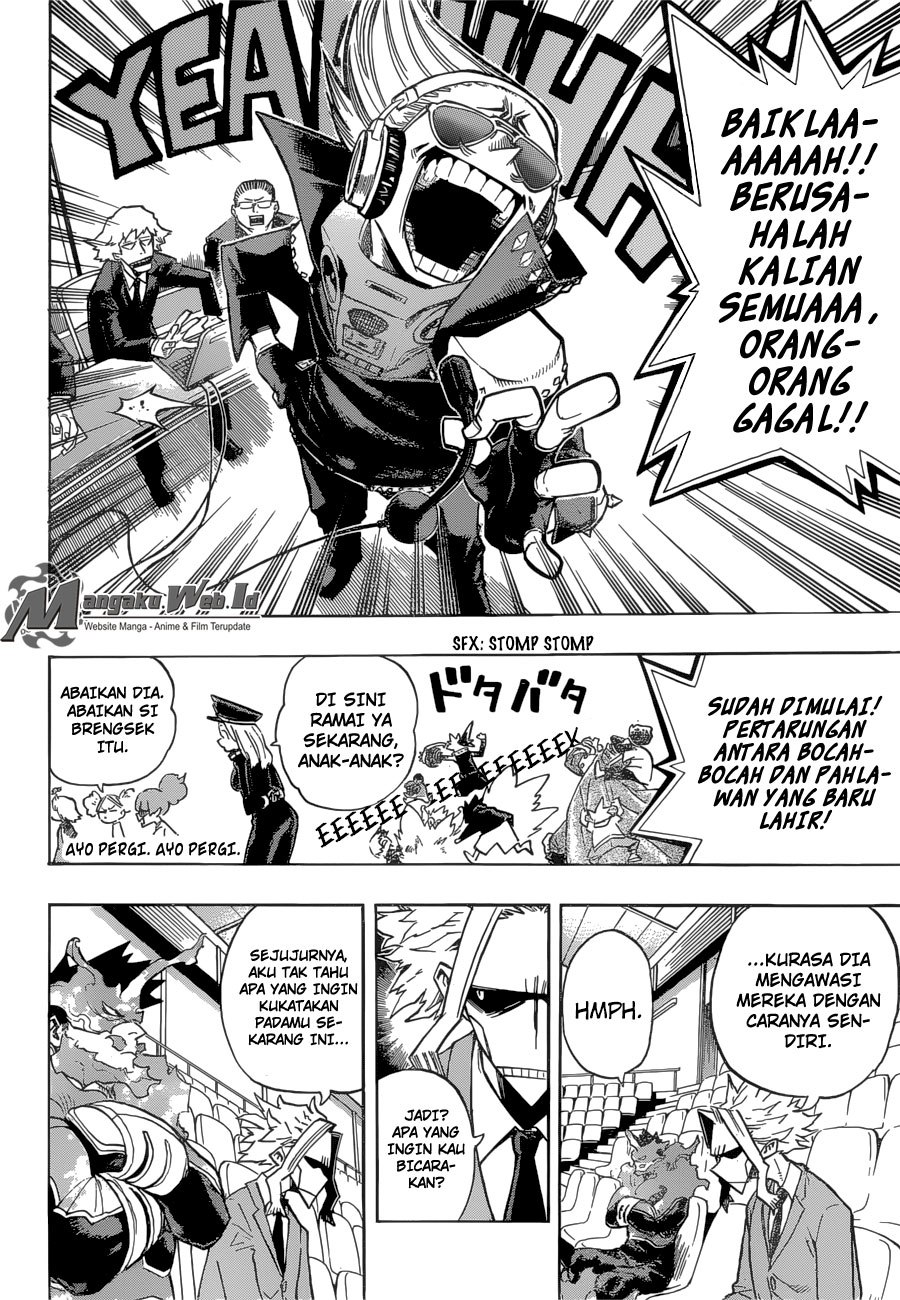 Boku no Hero Academia Chapter 164-16