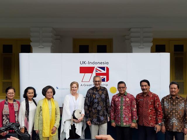 70 tahun  hubungan diplomatik Indonesia - Inggris