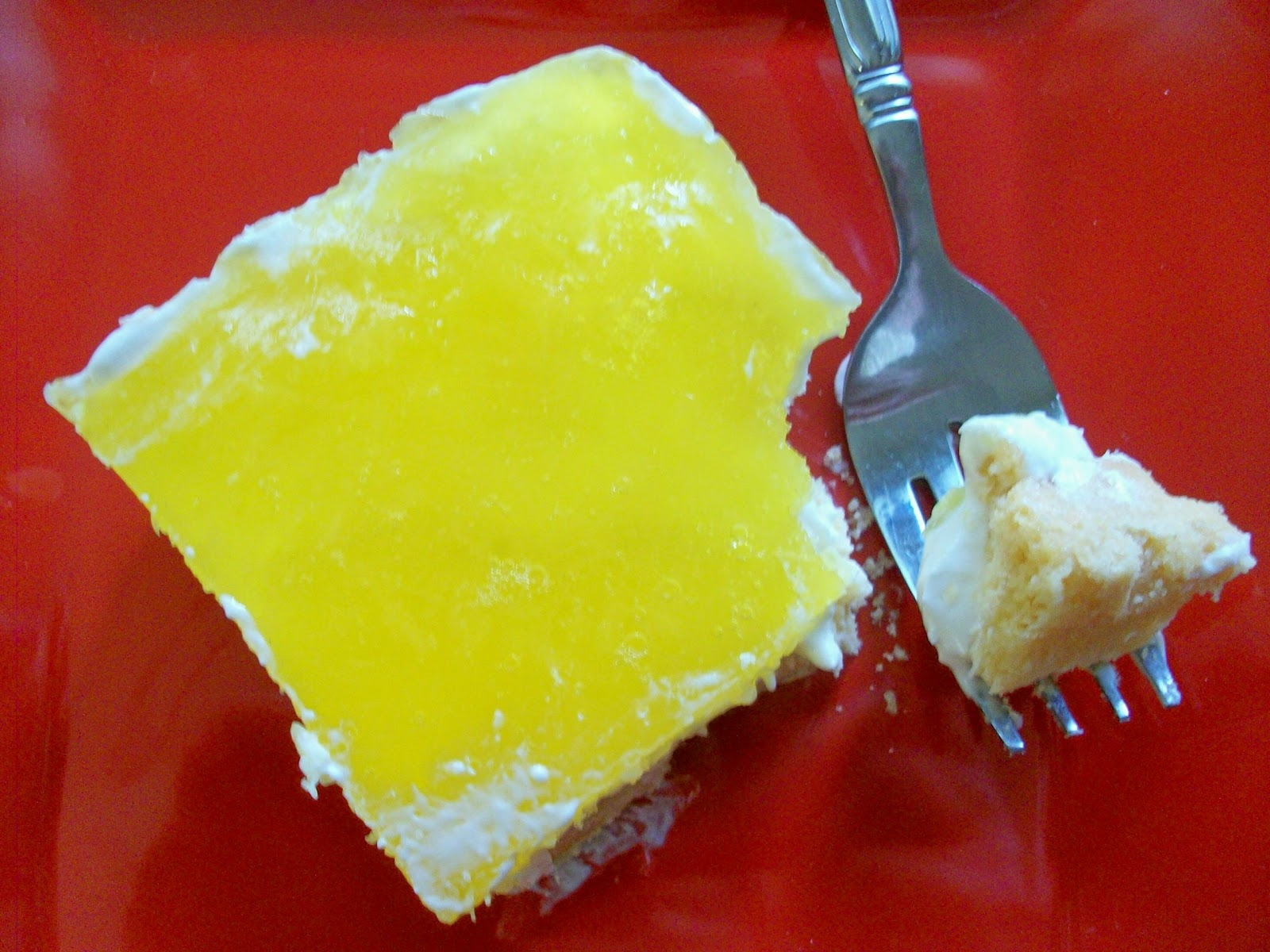 Cake Recipe With Lemon Jello: Martha's Recipe Cabinet: Pineapple Lemon Jello Squares
