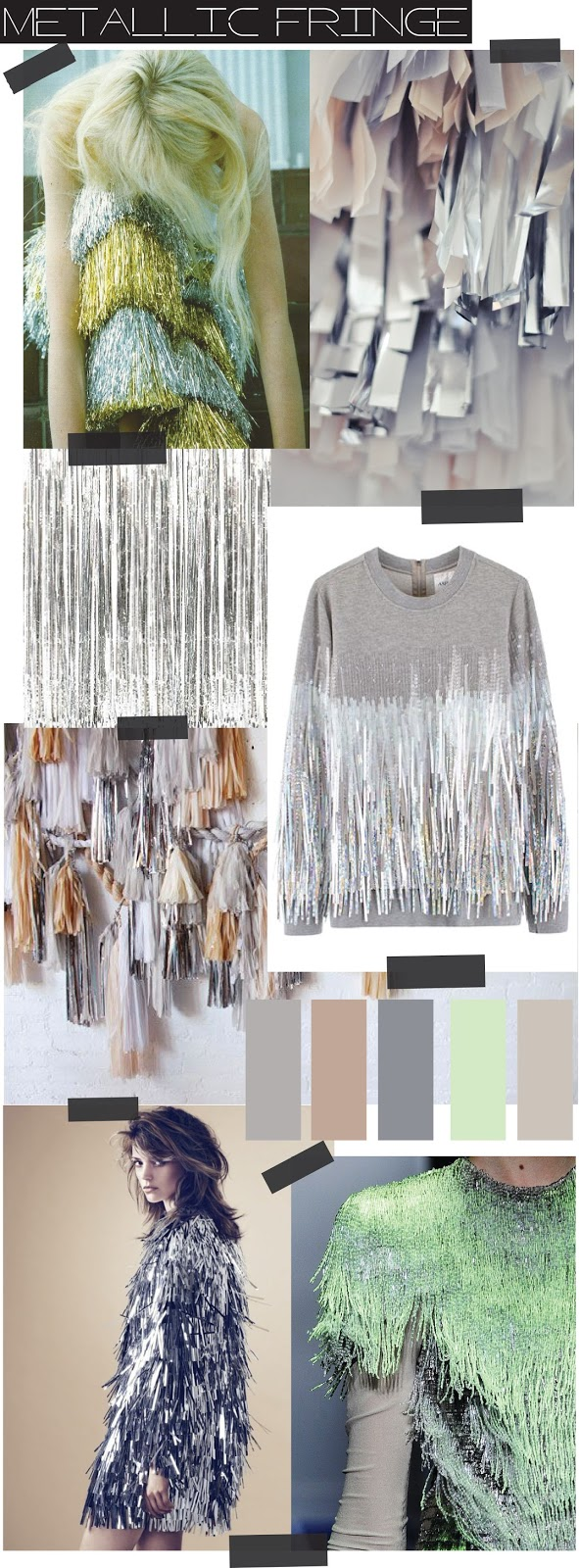 TRENDSPIRATION // METALLIC FRINGE