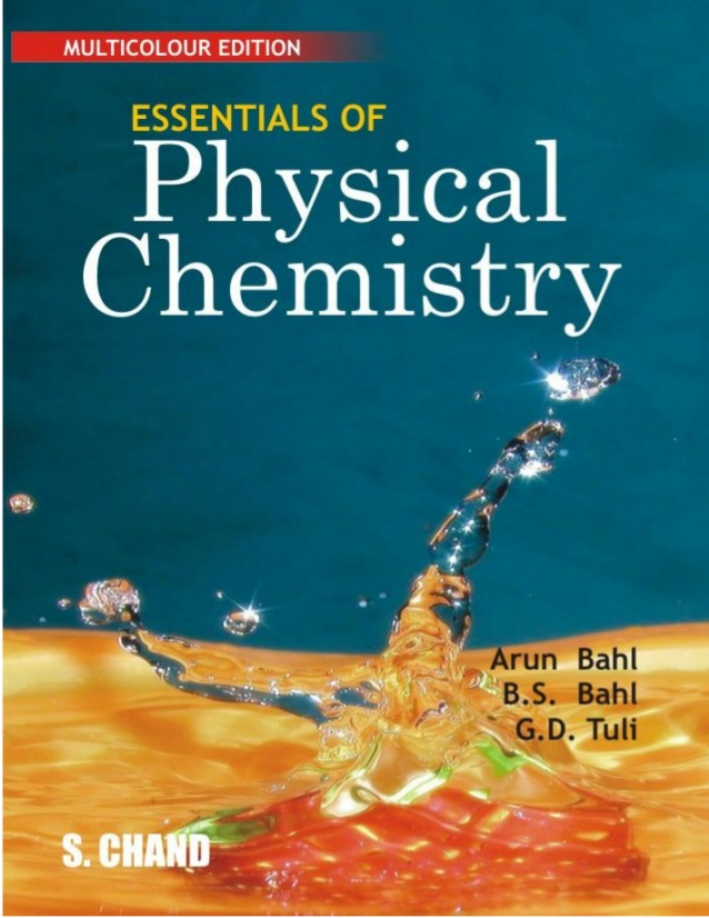 Chemical Engineering eBooks: Essential of Physical Chemistry