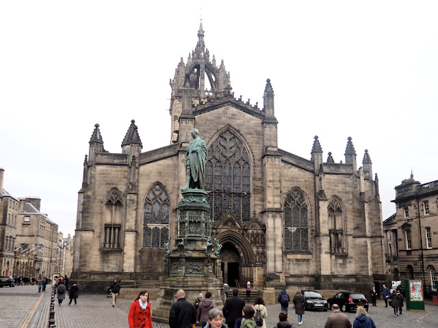 St Giles Cathedral, Royal Mile, Edinburgh