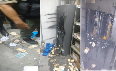 bandidos assaltam banco do brasil em LIMOEIRO