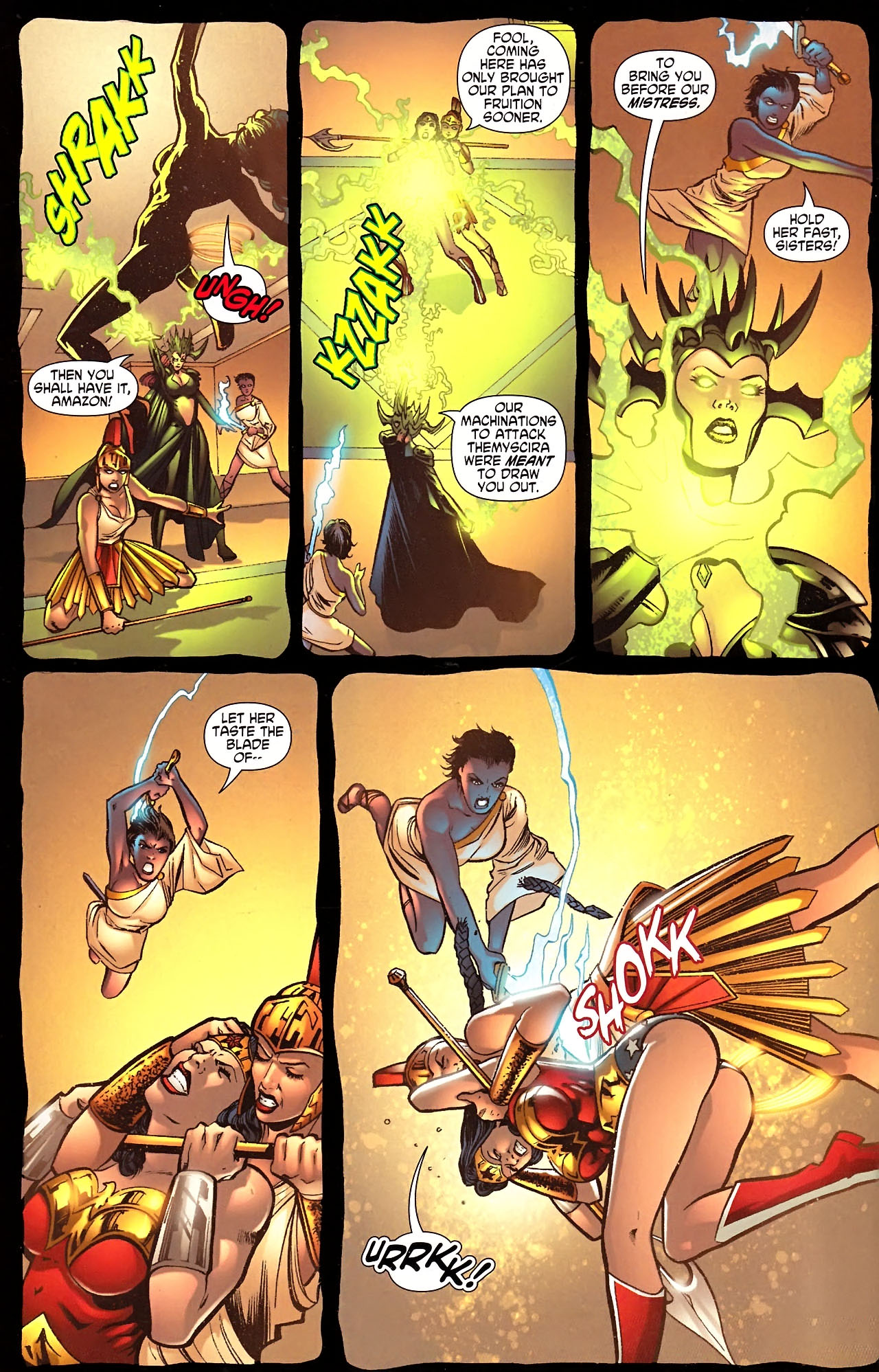 Read online Wonder Woman (2006) comic -  Issue #613 - 8