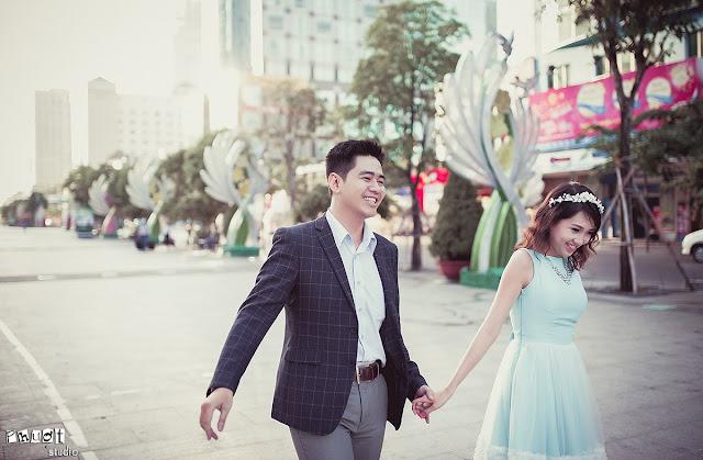 3 lí do nên chụp ảnh cưới ở công viên