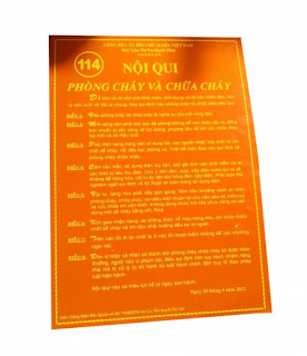 Bộ nội quy tiêu lệnh pccc