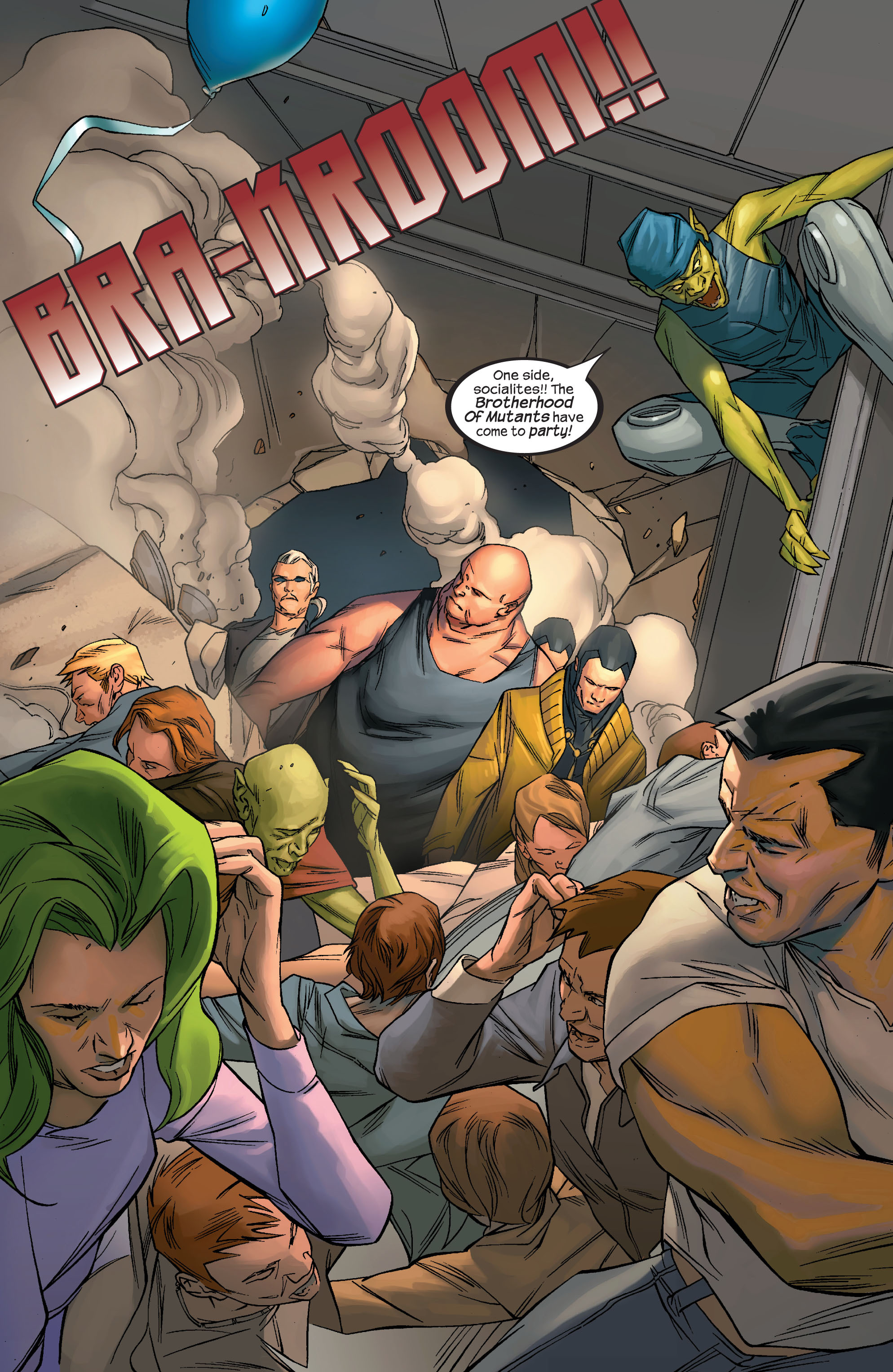 Read online Ultimate X-Men comic -  Issue #69 - 19