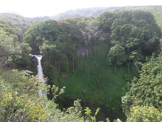 makahiku falls hana maui